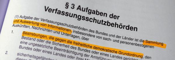Beitragsbild Wen oder was schützt der Verfassungsschutz?